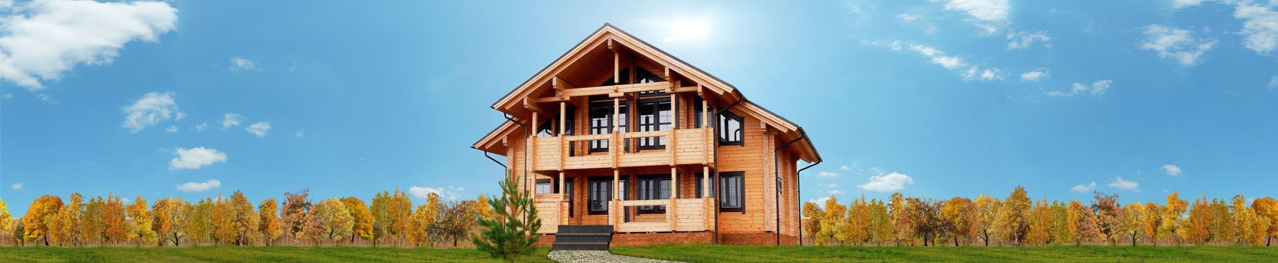 Дом из клееного бруса «Волшебный лес»