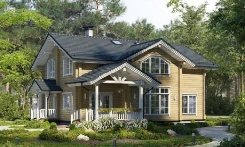 Из какого бруса лучше строить дом для постоянного проживания